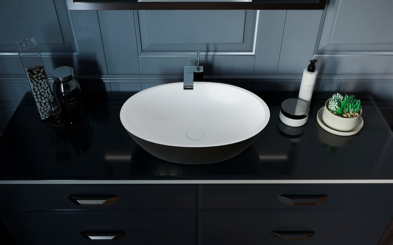 Sensuality black white stone sink by Aquatica 01 (web)