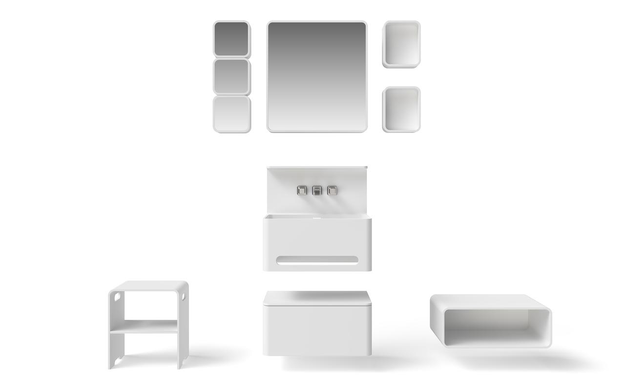 Sola Solid Surface Bathroom Furniture Set (web)