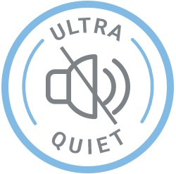 ultra quiet icon