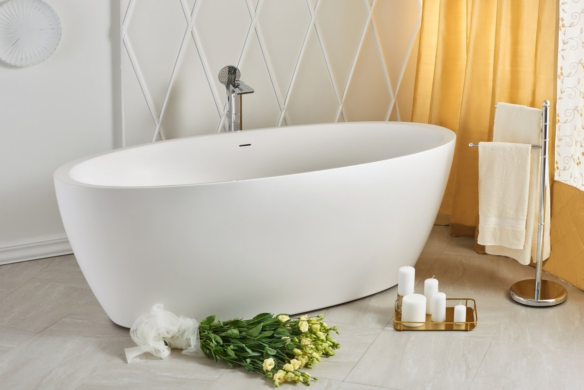 Gorgeously Unique Tub Materials For Bath Time Luxury