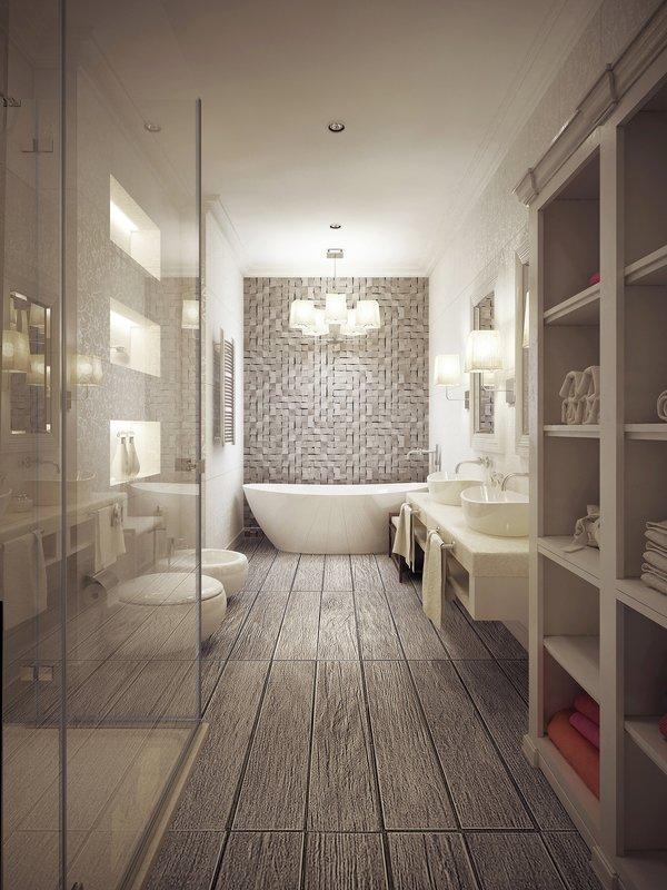 bigstock Bathroom In Provencal Style Wi 108201695