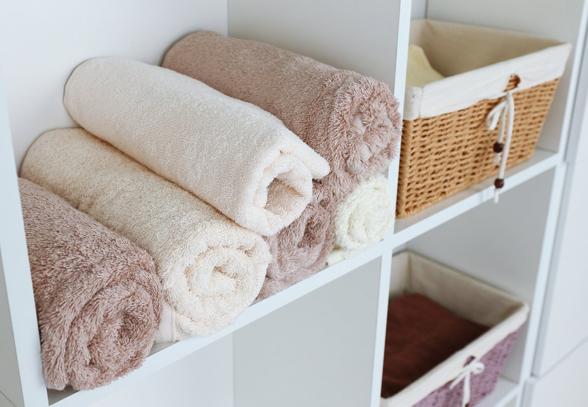 spa towel storage. Perfect Towel Bigstock Rolled Towels With Wicker Bask 87286379 Intended Spa Towel Storage